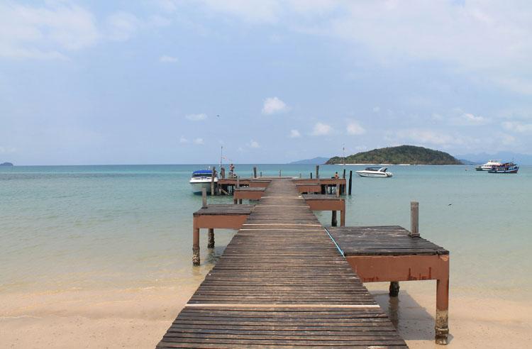 Koh Mak, Thailand -- not quite a Thai island paradise -- Suan Yai Bay