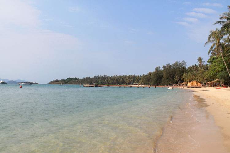 Koh Mak, Thailand -- not quite a Thai island paradise but this beach isn't bad