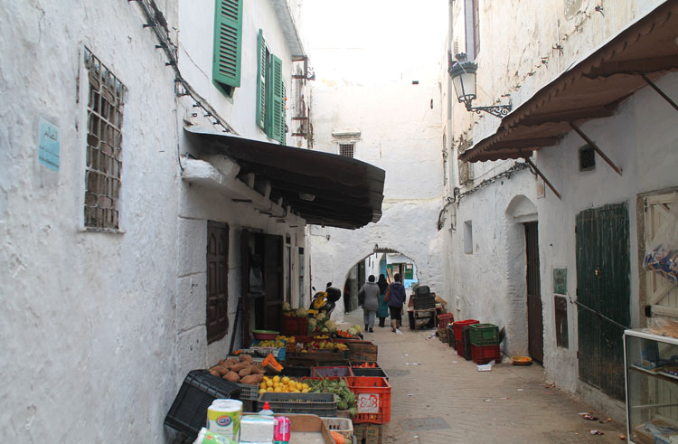 Backpacking in Morocco -- Tetouan