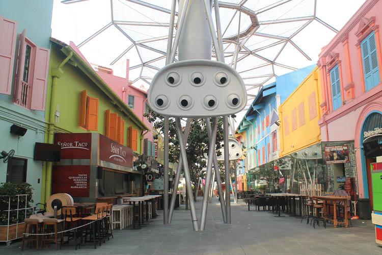 Clarke Quay shophouses, Singapore