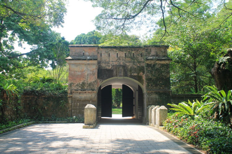 Downtown Singapore -- Fort Canning Park