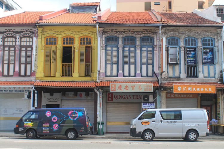 Shophouses on Geylang Road, Singapore