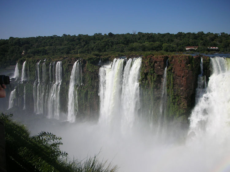 Stunning natural wonders in South America -- Iguazu Falls, Argentina