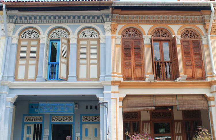 Shophouses on Kandahar Street, Singapore