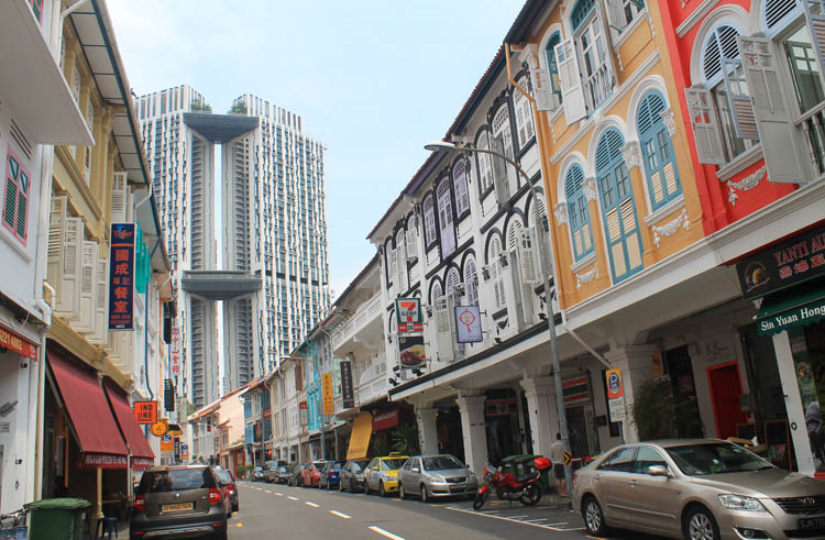 Shophouses on Keong Saik Road, Singapore