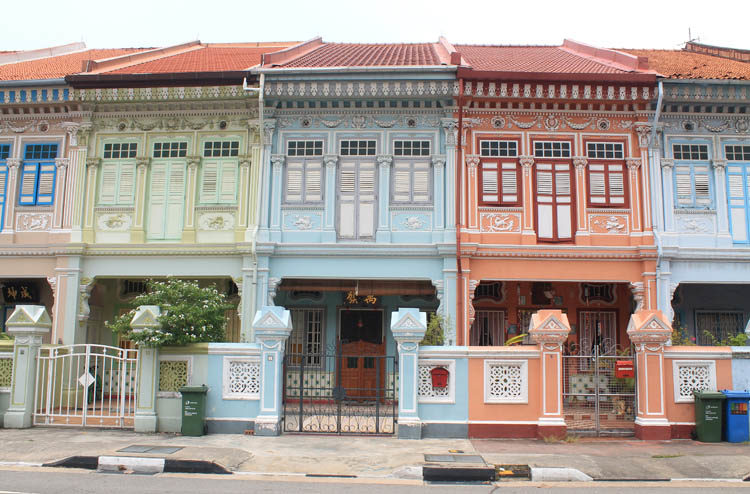 Shophouses on Koon Seng Road, Singapore