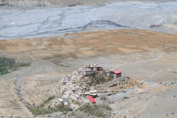 looking-down-ki-monastery-spiti