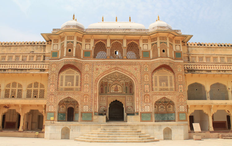 Touring the Forts and Palaces in Jaipur, India -- Amber Palace