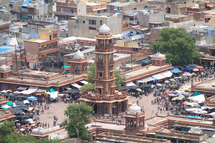 clocktower-jodhpur-rajasthan-india