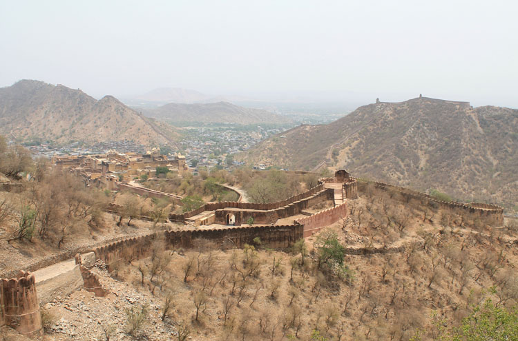 Touring the Forts and Palaces in Jaipur, India -- Jaigarh Fort, Amber