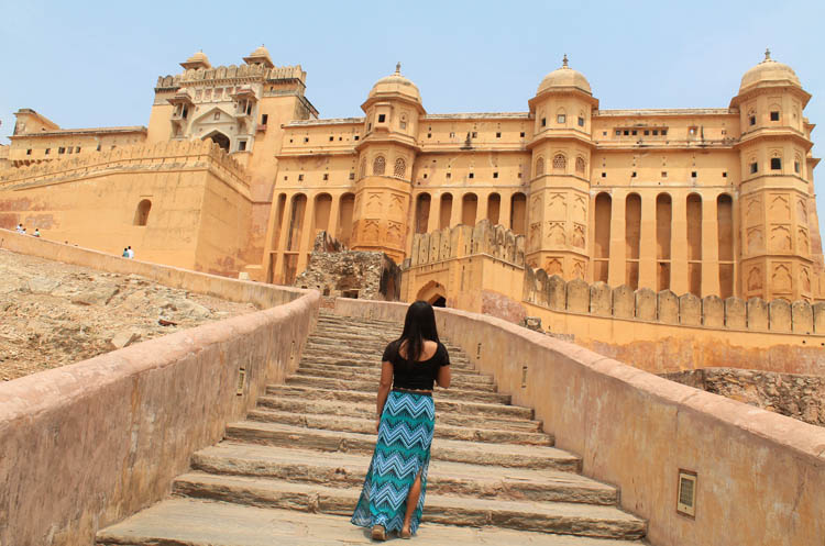 Touring the Forts and Palaces in Jaipur, India -- Amber Fort
