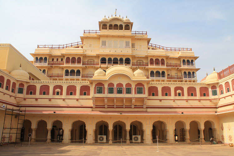 Touring the Forts and Palaces in Jaipur, India -- City Palace