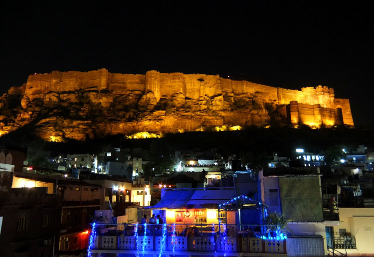 mehrangarh-fort-night-view