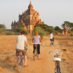Cycling Around the Temples in Bagan, Myanmar
