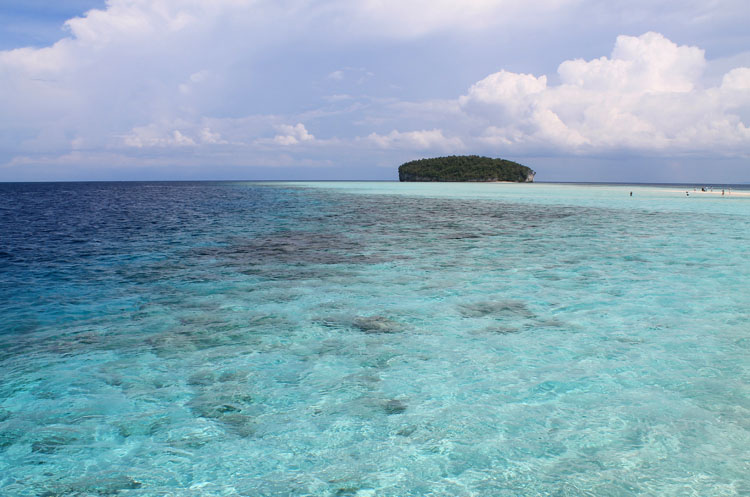 Pasir Timbul, Indonesia, one of the most beautiful sandbar beaches in the world