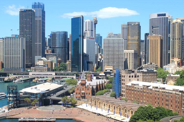 A day in Sydney, Australia