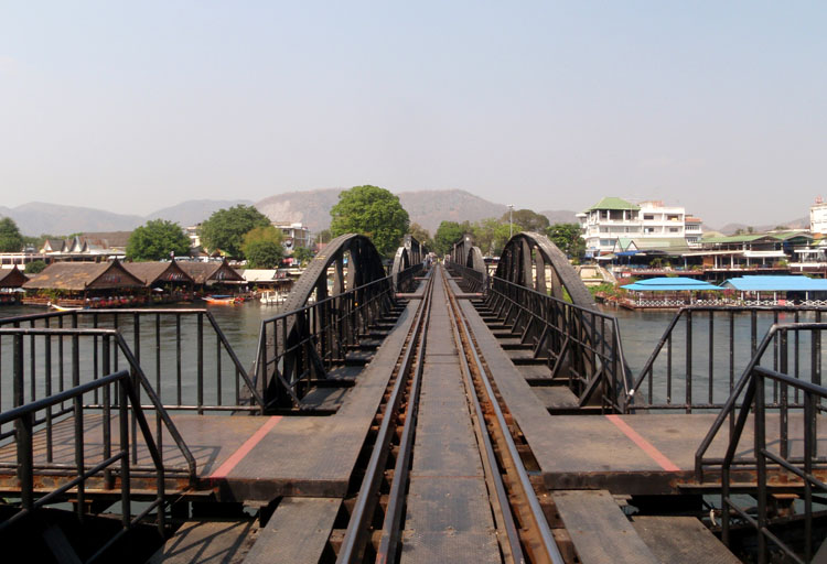 Things to do in Kanchanaburi, Thailand -- the infamous Bridge on the River Kwai