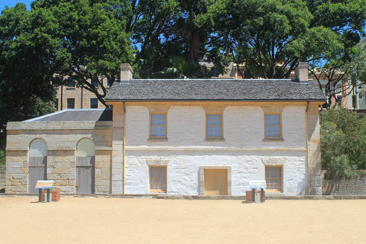 A day in Sydney, Australia -- Cadmans Cottage, the oldest house in Sydney
