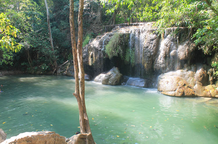 Things to do in Kanchanaburi, Thailand -- Erawan Falls
