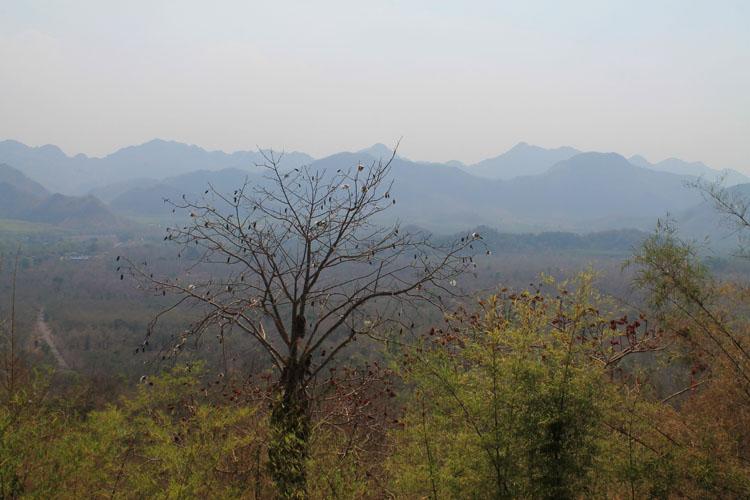 Kanchanaburi travel guide, Thailand -- April haze