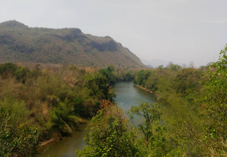 Things to do in Kanchanaburi, Thailand -- rural scenery