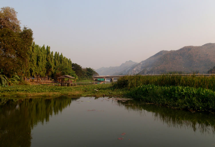Things to do in Kanchanaburi, Thailand -- Cycling in the countryside