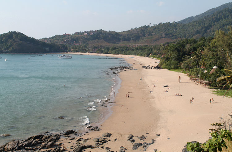 Long Beach, Koh Phi Phi, Thailand -- exploring Kantiang Bay