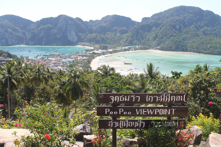 Long Beach, Koh Phi Phi, Thailand -- day trip to Koh Phi Phi