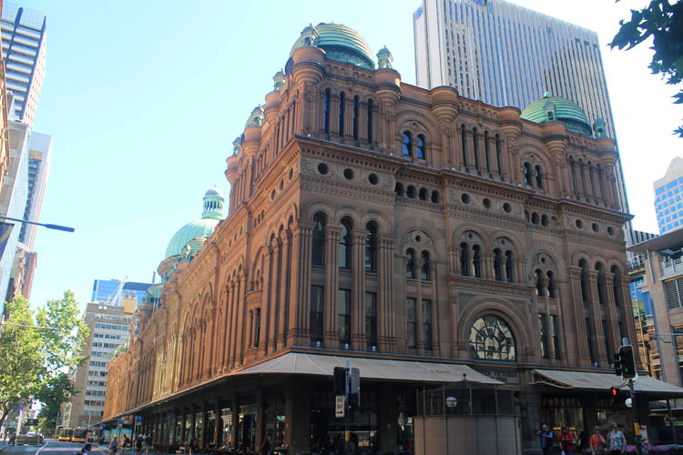 A day in Sydney, Australia -- The Queen Victoria Building