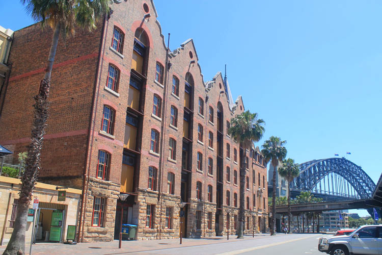 A day in Sydney, Australia -- The Rocks warehouses