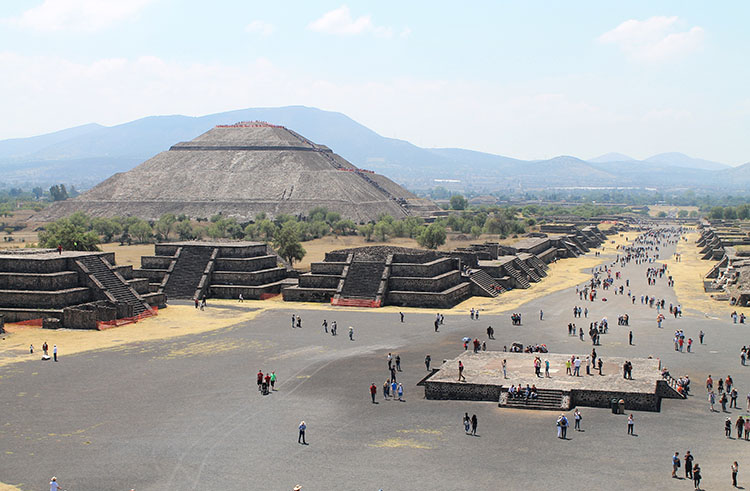 Backpacking in Mexico: Teotihuacan