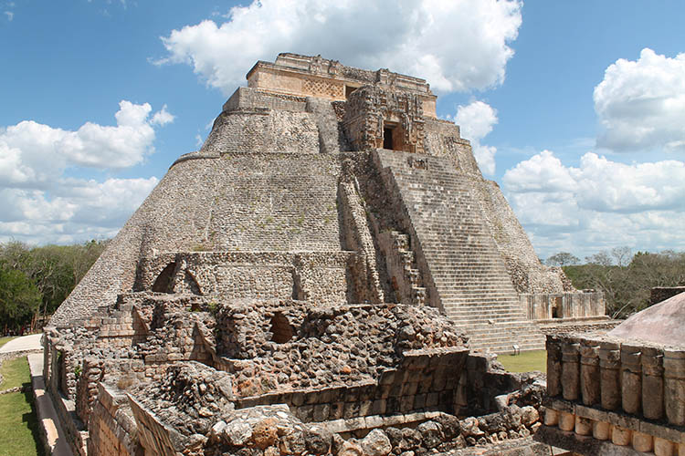 Backpacking in Mexico: Uxmal