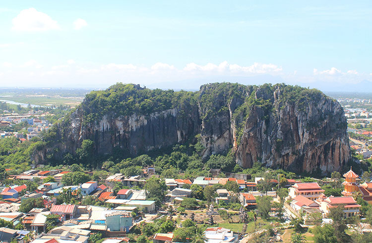 A tour of the Marble Mountains, Vietnam