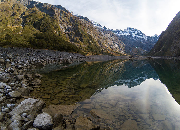 Lake Marian, Fiordland National Park, New Zealand -- close to Milford Sound