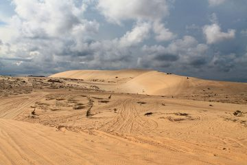 The Mui Ne sand dunes tour, Vietnam