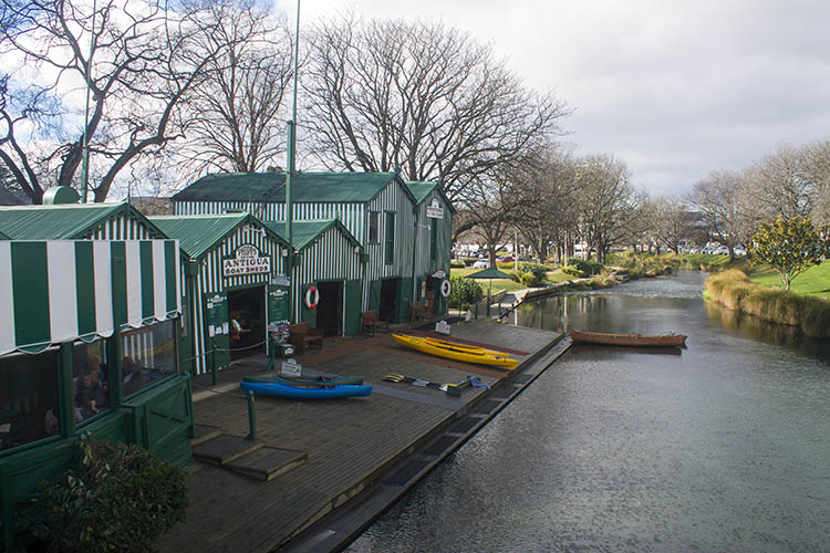 Things to do in Christchurch, New Zealand -- Antigua Boat Sheds