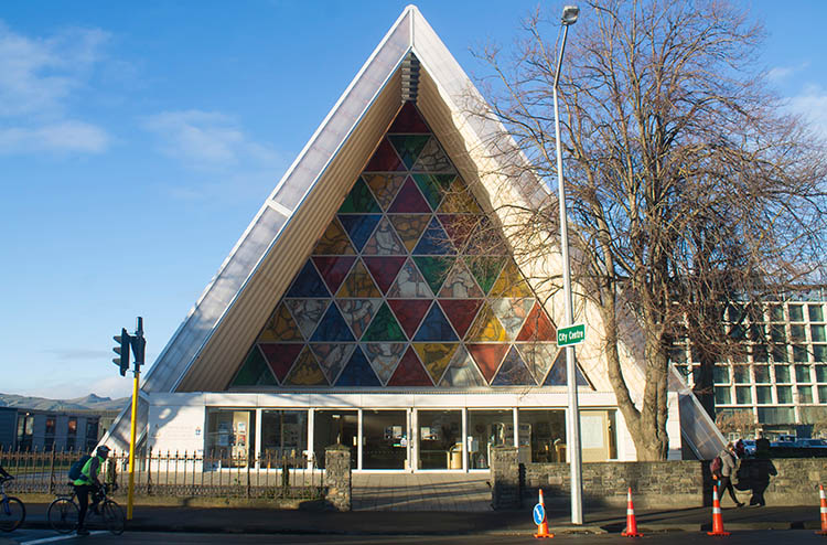 Things to do in Christchurch, New Zealand -- The Cardboard Cathedral