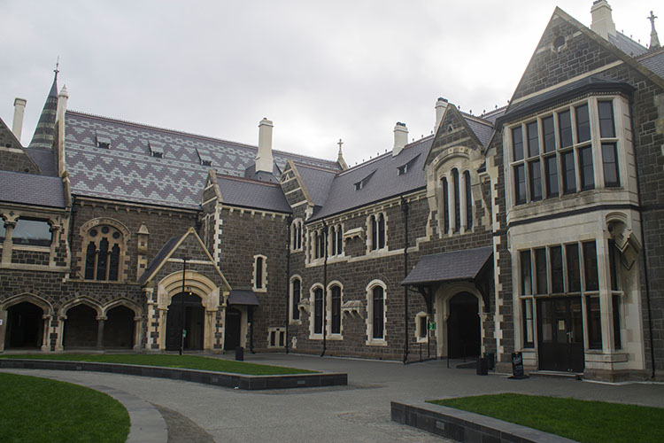 Things to do in Christchurch, New Zealand -- historic buildings