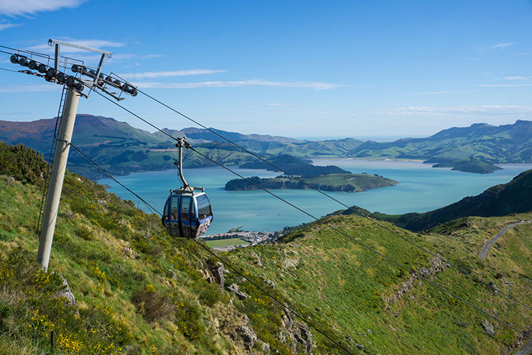 Two week New Zealand itinerary: Christchurch Gondola