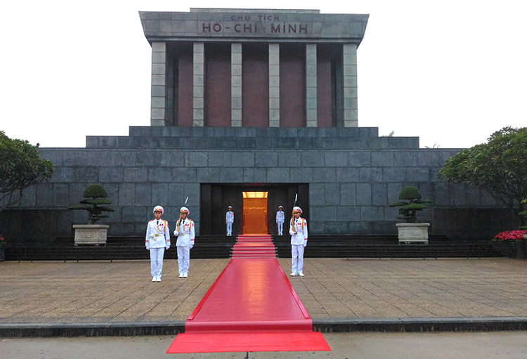 Things to do in Hanoi, Vietnam -- Ho Chi Minh's Mausoleum