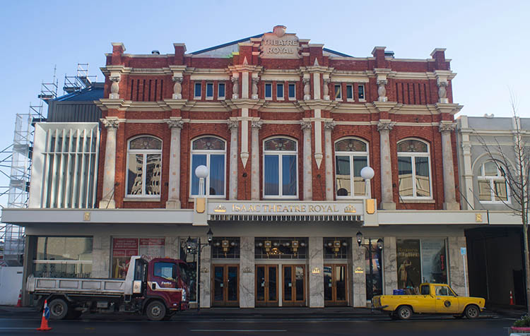 Things to do in Christchurch, New Zealand -- search for old buildings