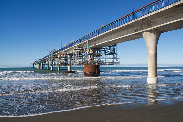 Things to do in Christchurch, New Zealand -- New Brighton Beach and Pier