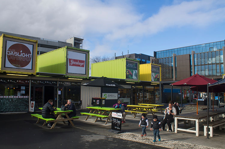 Things to do in Christchurch, New Zealand -- The Restart Mall