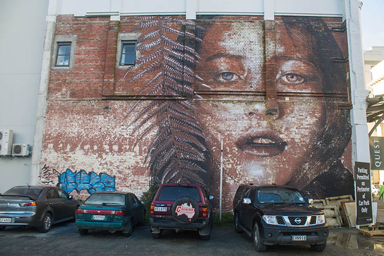 Things to do in Christchurch, New Zealand -- street art in the centre city
