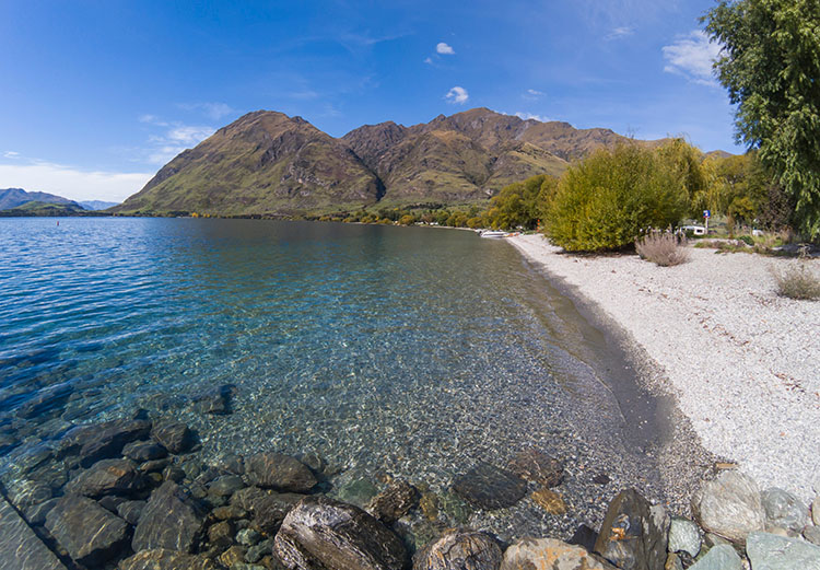 Two week New Zealand itinerary: Glendhu Bay, Wanaka