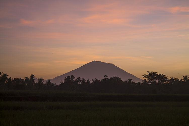 A Bali sunrise, Ubud