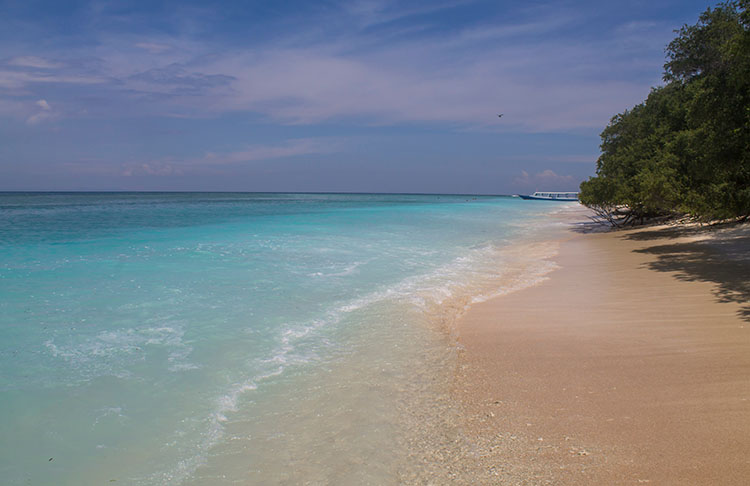 Gili Trawangan, one of many awesome islands near Bali