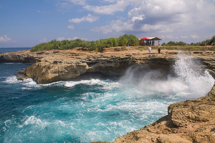 The Devil's Tear, Nusa Lembongan, Indonesia
