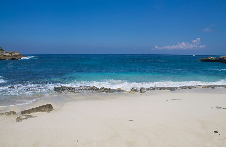Sandy Bay, Nusa Lembongan, Indonesia