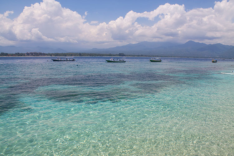 The best beaches on Gili Air, Indonesia -- the east coast